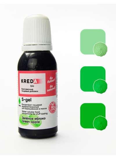 S-gel 39 зеленое яблоко,концентрат универс. для окраш.(20мл)
