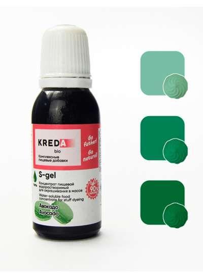 S-gel 40 авокадо, концентрат универс. для окраш. (20мл)