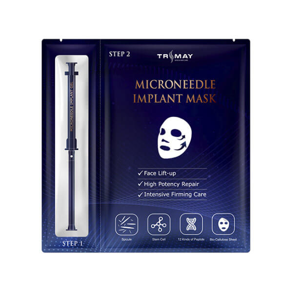 Омолаживающая маска с микроиглами Trimay Microneedle Implant Mask