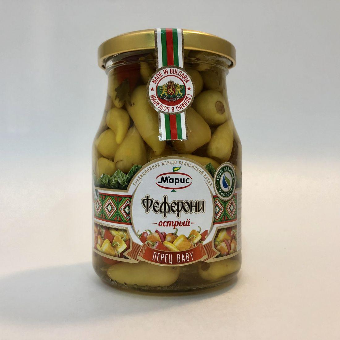 Перец острый феферони BABY - 340 гр