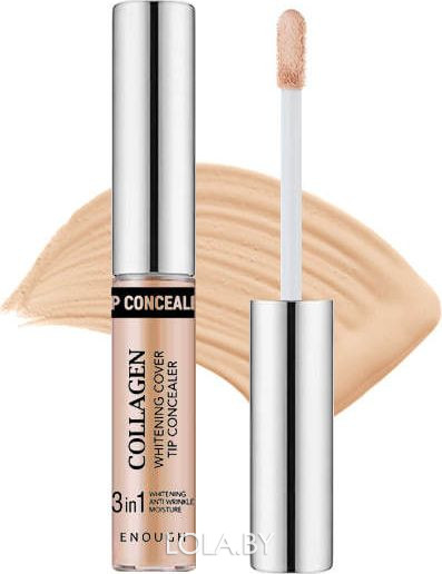 Осветляющий консилер Enough Collagen Whitening Cover Tip Concealer 0,1 тон