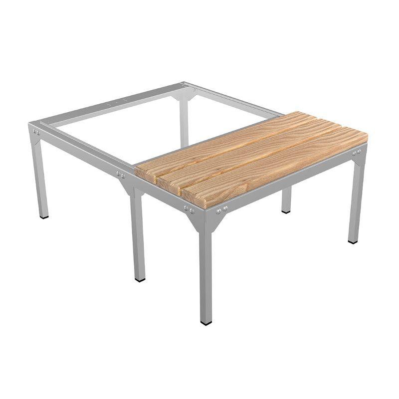 Скамья-подставка под шкаф для одежды «LS-21-60» сосна