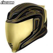 Шлем Icon Airflite EL Centro, Чёрный с золотым