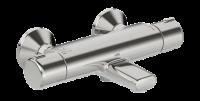 Смеситель для ванны с подключением душа Oras Nova 7462U двухрычажный с термостатом