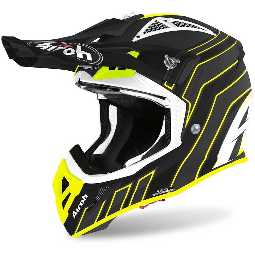 Airoh Aviator Ace Art Black Matt шлем для мотокросса и эндуро