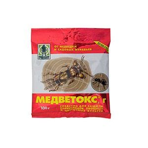 "Инсектицид ""Медветокс"" от медведки и садовых муравьев 100г"