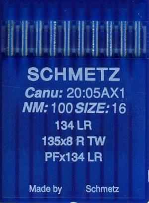 Иглы Schmetz PFx134LR 1738LR №90/14 10шт