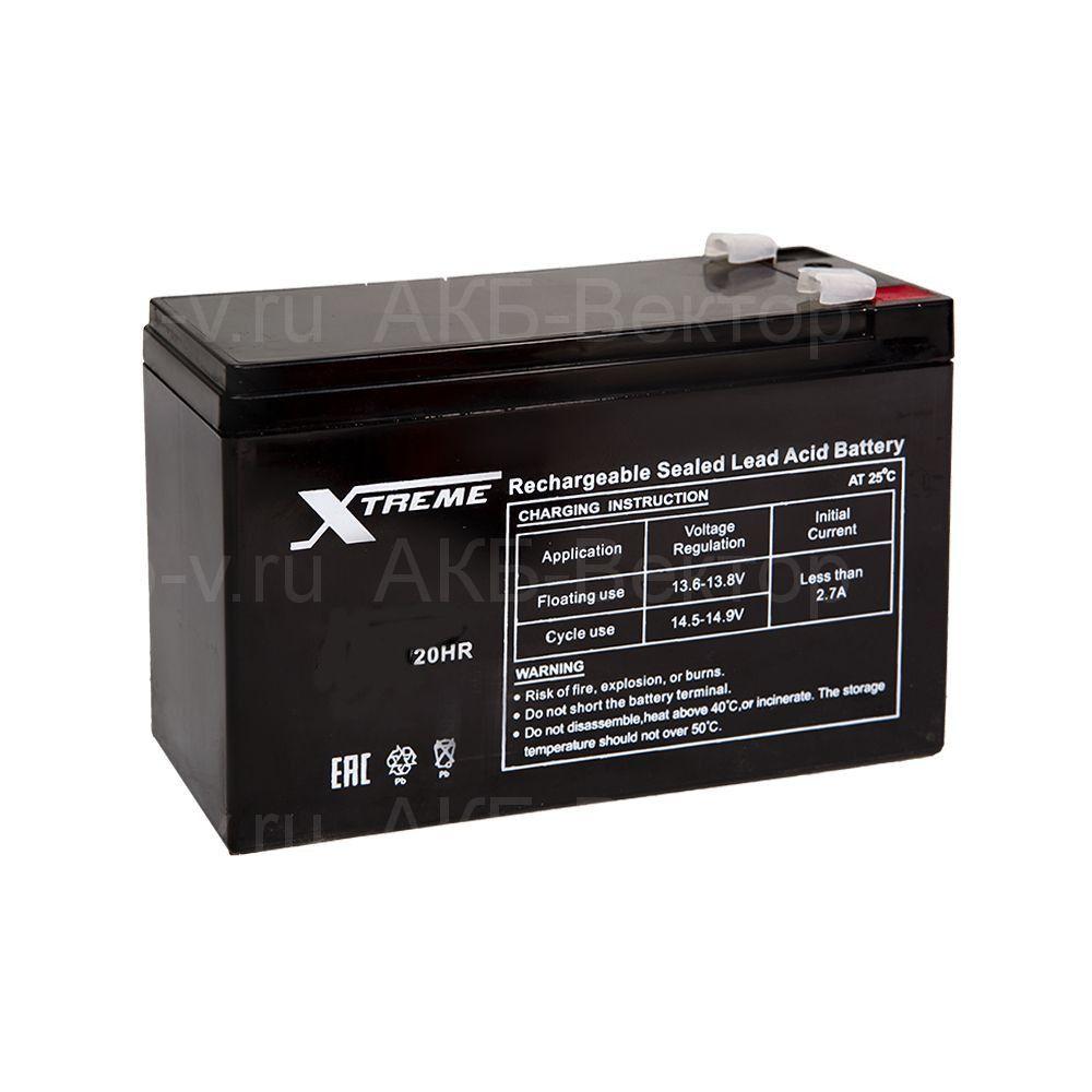Xtreme 7,2 Aч (срок службы 6 лет)