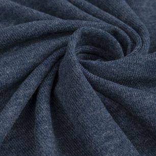 Трикотажное полотно - Джинсовый меланж 50х37