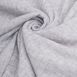 Трикотаж-резинка меланж - Серый 50х37
