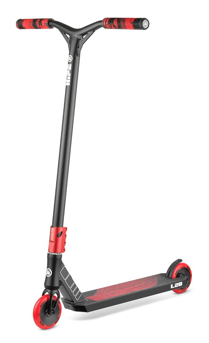 Самокат HIPE L20 черно/красный (2021)