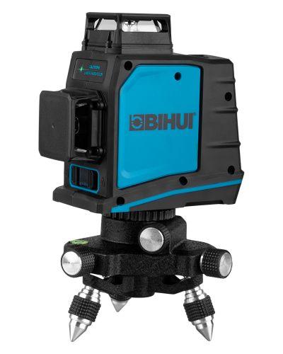 Зеленый лазерный уровень 3D BIHUI LLG12 L12, 12 линий