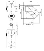 Тропический душ Fima - carlo frattini Wellness F5920 16,3х8