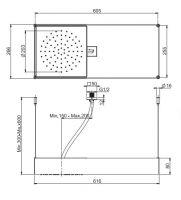 Тропический душ Fima - carlo frattini Wellness F2993VT 60,5х26,6