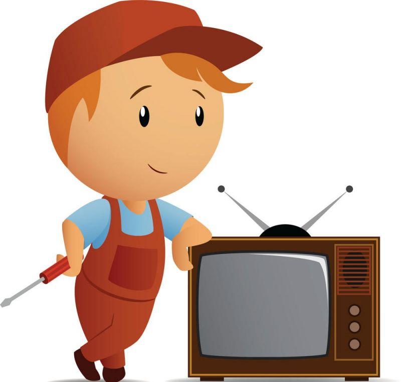 Установка ТВ на подставку (сборка)