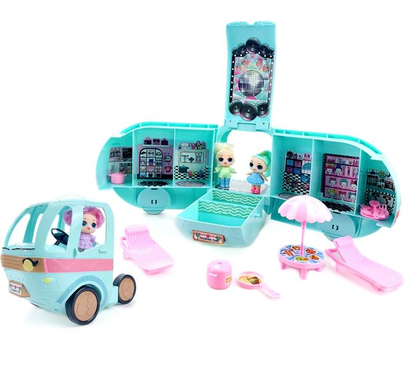 Кукла Сюрприз LOL Surprise Glamper Автобус ЛОЛ с куклой +20 сюрпризов