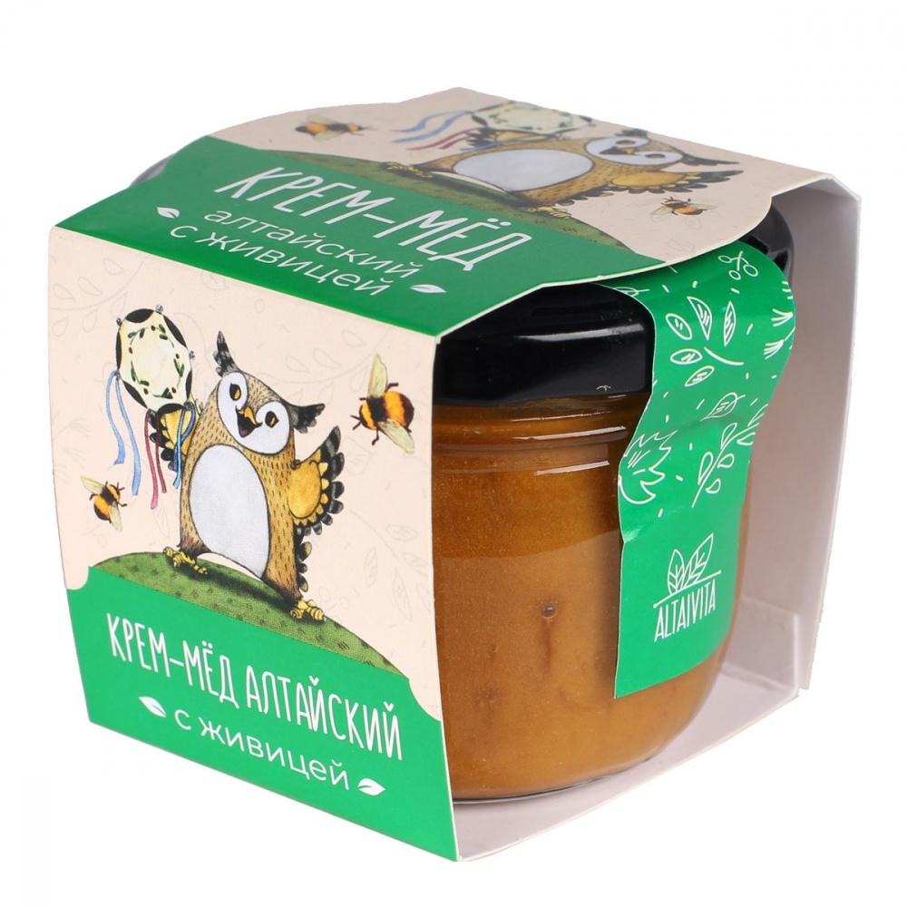 Крем-мед Алтайский с живицей