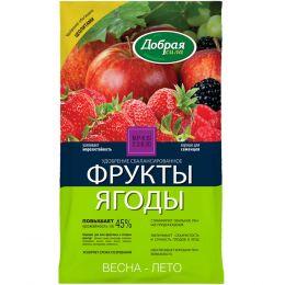 """Удобрение """"Добрая сила"""" фрукты и ягоды 0,9 кг"""
