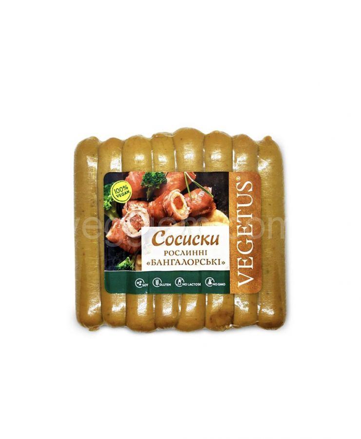 """Сосиски растительные """"Бангалорские"""",350 грамм"""