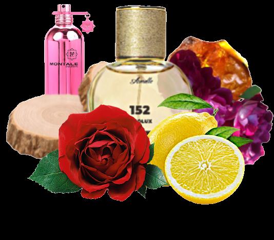 Арoмат № 152 Направление:  Montale-Roses Musk