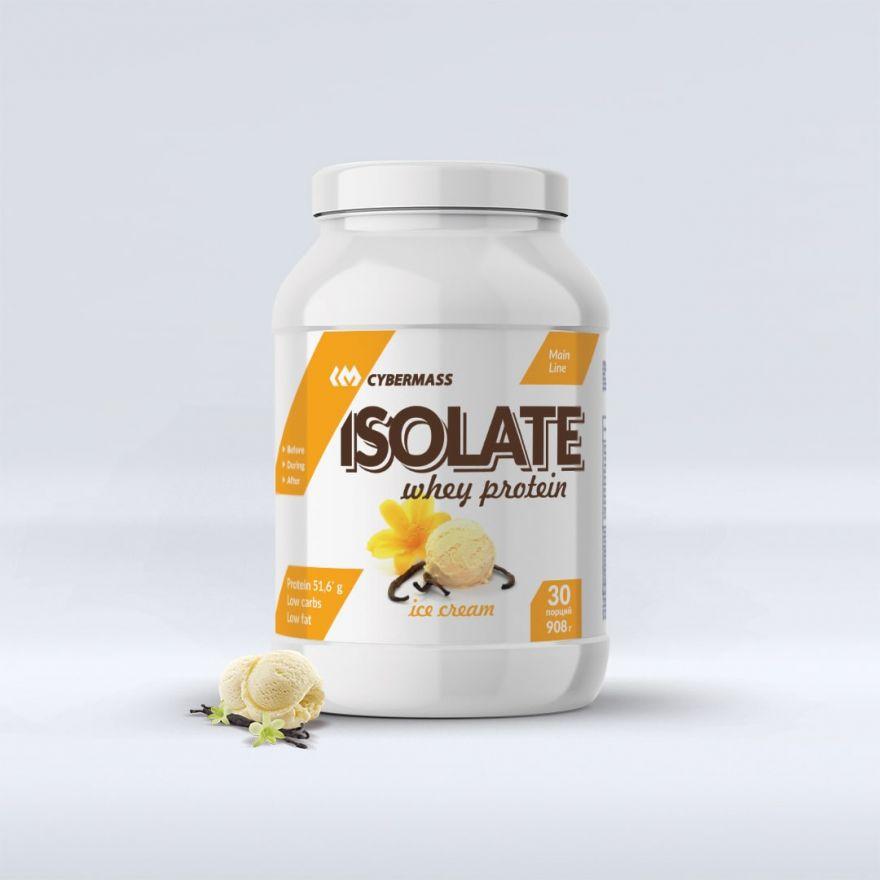 Протеин Изолят CyberMass Whey ISOLATE 908гр (30 порций)