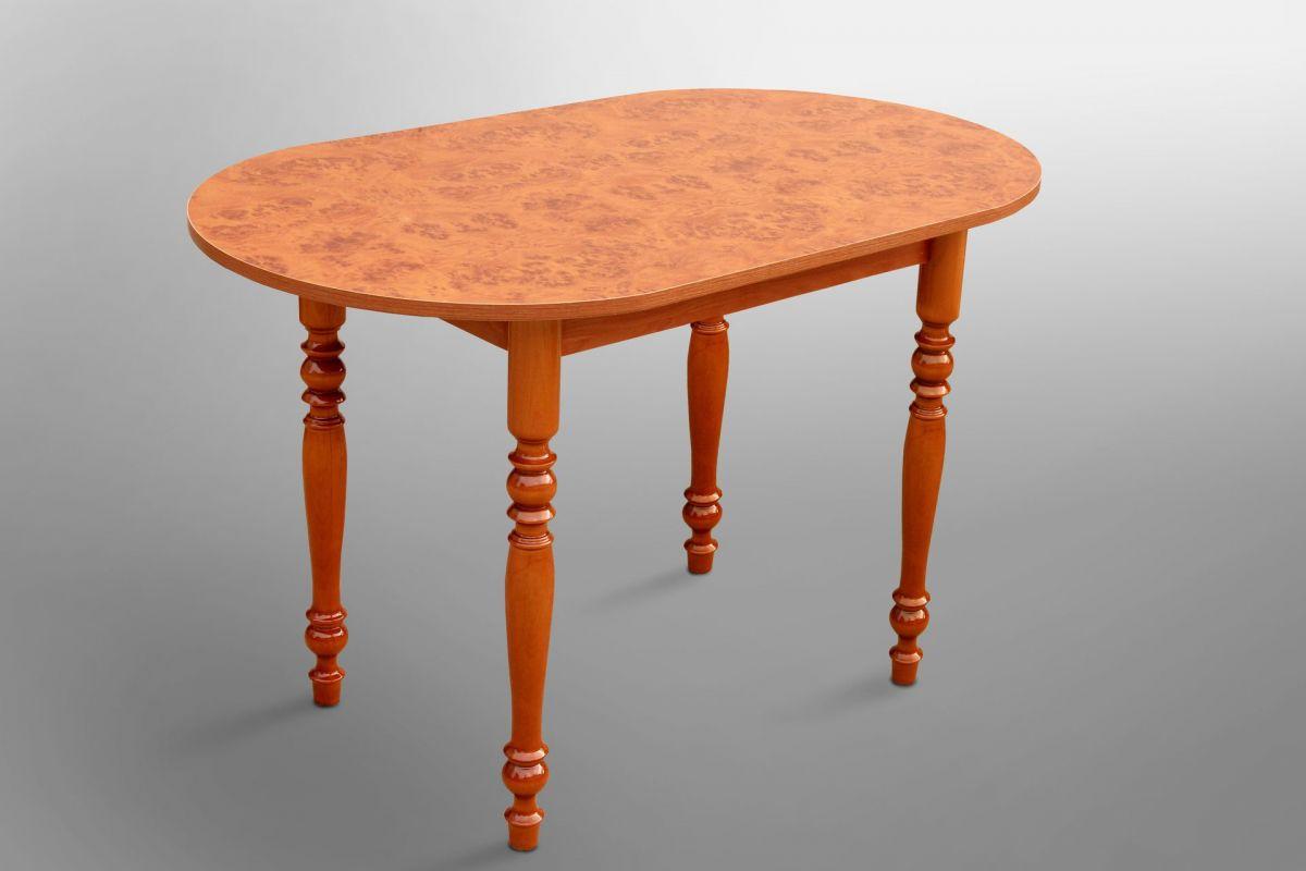 Стол обеденный овальный 1200*700 ножки резные