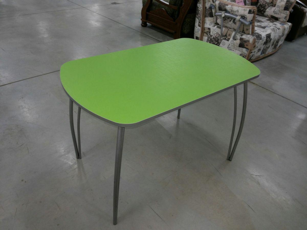 Стол обеденный 1000*600/1200*700 на метал.опоре