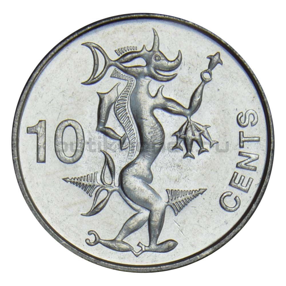10 центов 2012 Соломоновы острова