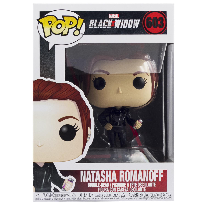 Фигурка Funko POP! Bobble: Marvel: Black Widow: Black Widow (Street)