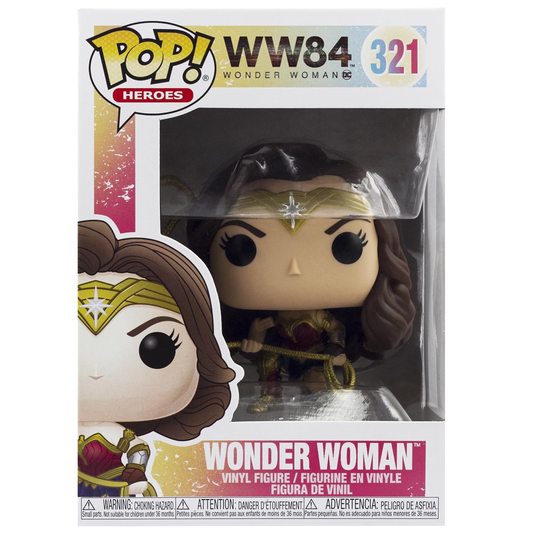 Фигурка Funko POP! Vinyl: DC: Wonder Woman 84: Wonder Woman (MT)