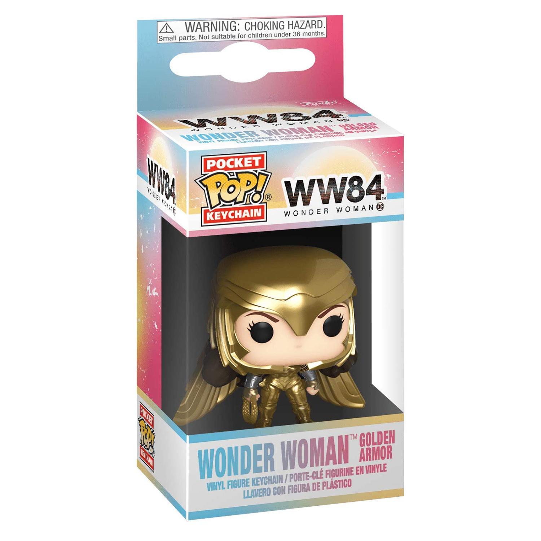 Брелок Funko Pocket POP! Keychain: DC: Wonder Woman 84: Wonder Woman Golden Armor