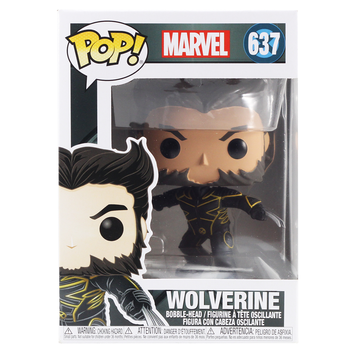 Фигурка Funko POP! Bobble: Marvel: X-Men 20th: Wolverine In Jacket