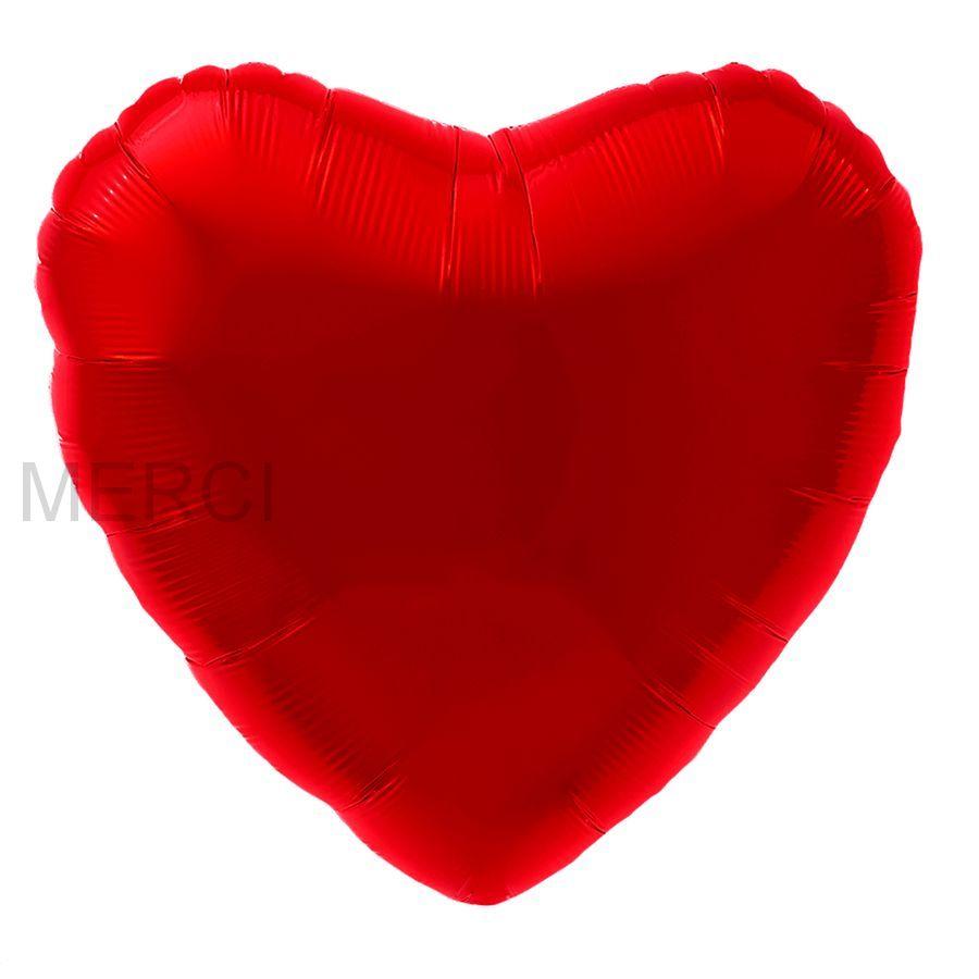 Большое сердце КРАСНЫЙ