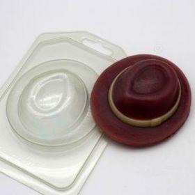 Форма для мыла и шоколада Шляпа (вид сверху)