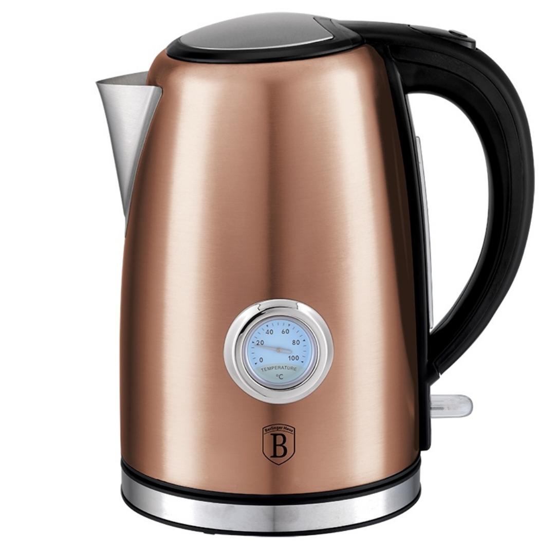 Чайник электрический с таймером Berlinger Haus BH 9069 Rosegold Line