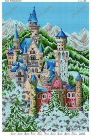 ЮМА ЮМА-269 Замок Нойшванштайн схема для вышивки бисером купить оптом в магазине Золотая Игла - вышивка бисером