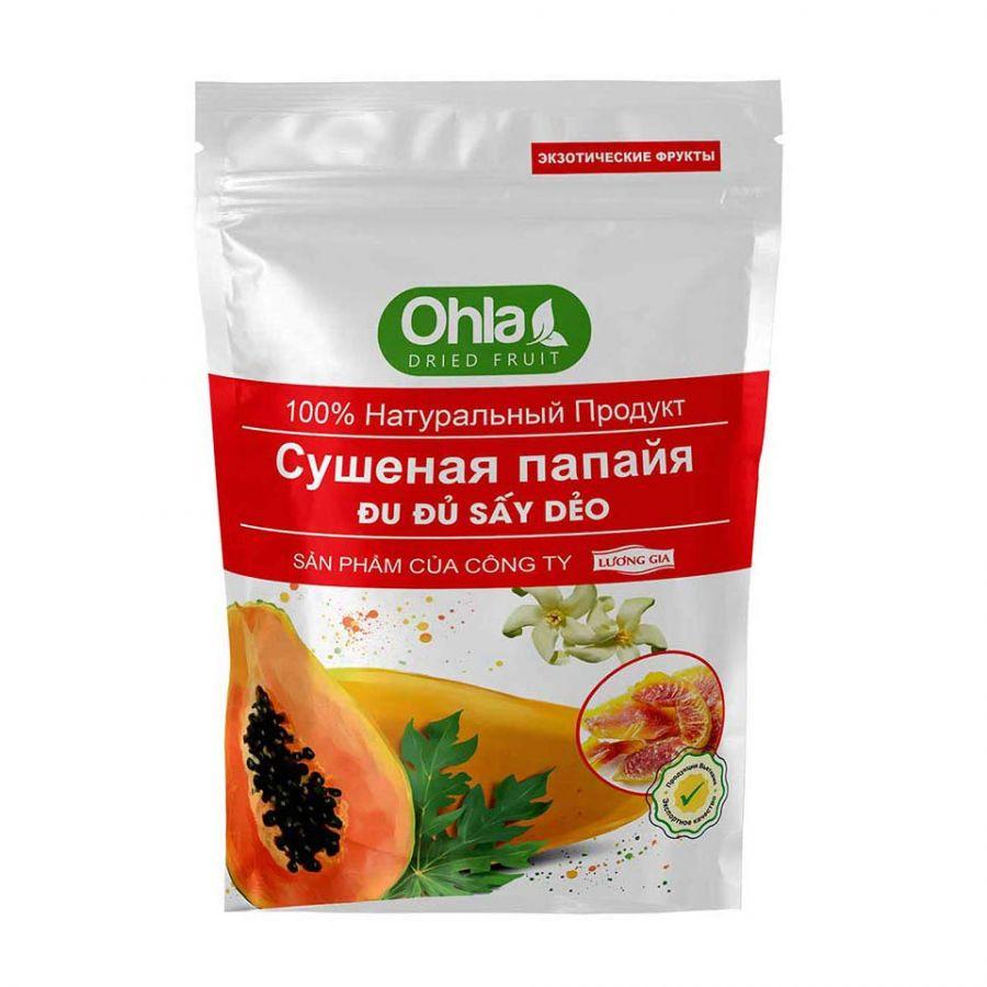 Сушеная папайя 0,5 кг