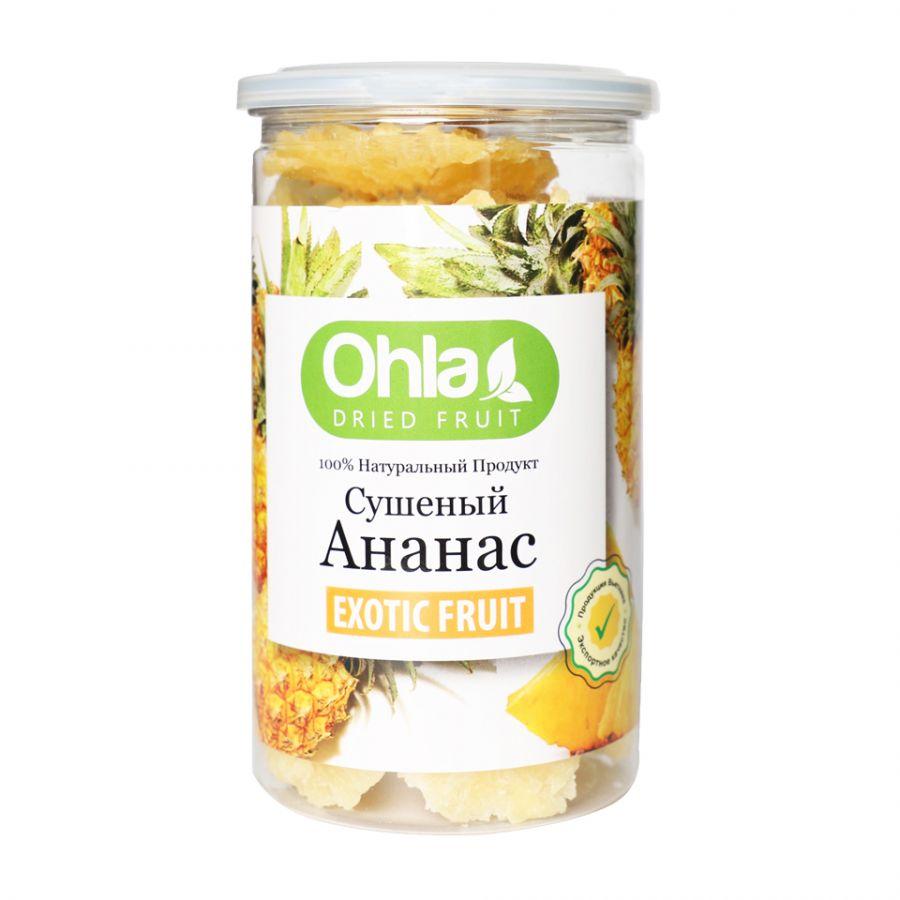 Сушеный ананас – банка 400г