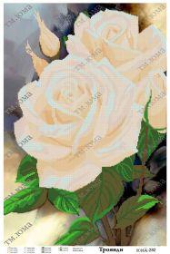 ЮМА ЮМА-282 Розы схема для вышивки бисером купить оптом в магазине Золотая Игла - вышивка бисером