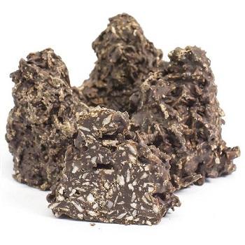 Кокос в темной шоколадной глазури