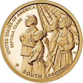 Септима Пуансетт Кларк Южная Каролина1 доллар США  2020 Инновации Монетный двор на выбор