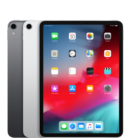 Apple iPad Pro 11 (2018) Space Gray 1Tb Wi-Fi Cellular