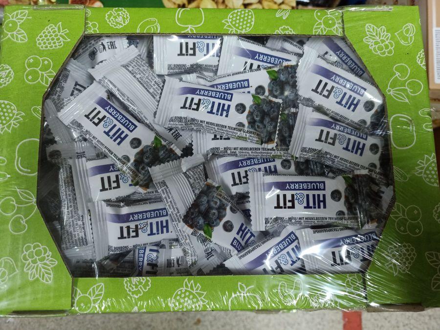 Конфеты-мюсли черника 2 кг
