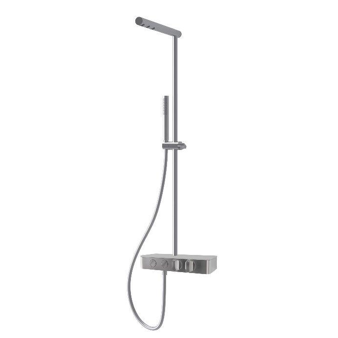Душевая стойка с тропическим душем Fima - carlo frattini Switch F5930