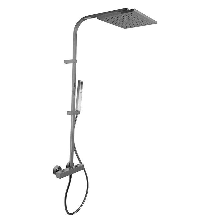 Душевая стойка с тропическим душем Fima - carlo frattini Wellness F4265/QP365