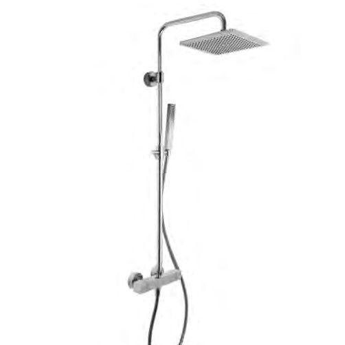 Душевая стойка с тропическим душем Fima - carlo frattini Wellness F4255/Q255