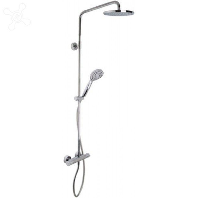 Душевая стойка с тропическим душем Fima - carlo frattini Wellness F4905/RP251