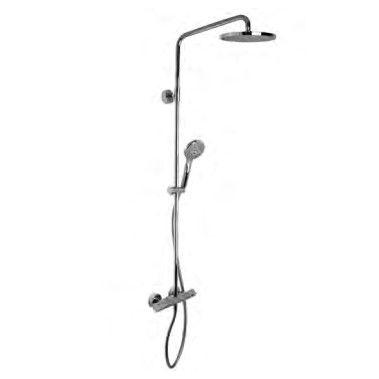 Душевая стойка с тропическим душем Fima - carlo frattini Wellness F4905/RP259 ФОТО
