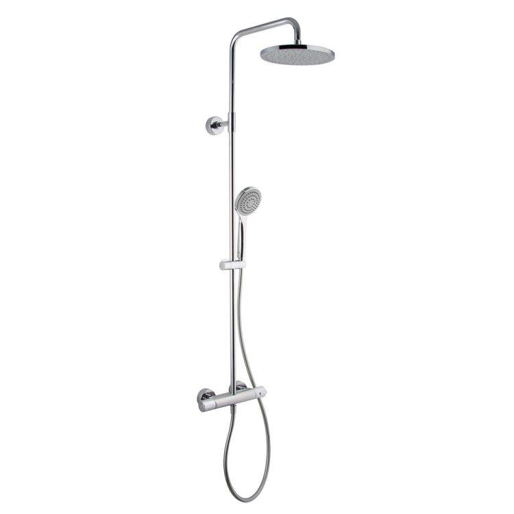 Душевая стойка с тропическим душем Fima - carlo frattini Wellness F3165/RP251
