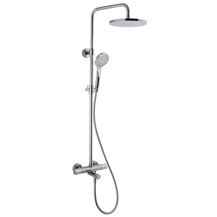 Душевая стойка с тропическим душем Fima - carlo frattini Wellness F4884/RP259